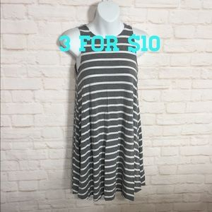 Old Navy sleeveless striped dress XS